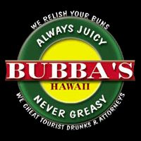 EAST (Kapa'a) & SOUTH (Poipu): Bubba Burgers ~ funny story of why they use this tagline!  Looks like a fun place to try.