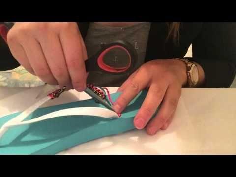 SANDALIA ARGOLLAS TEJIDA EN CROCHET PARTE 2 - YouTube