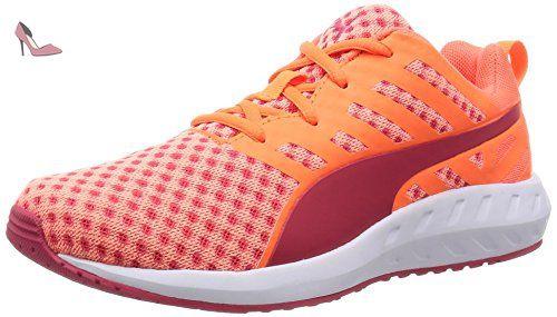 Puma De Orange Chaussures Wn's Course Femme fluo Flare zqrtOz