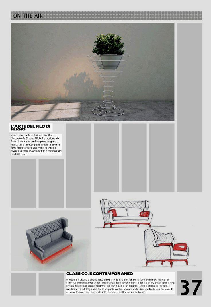 DDN Free, #sofa and #sofabed Morgan design Eric Berthes. www.milanobedding.it