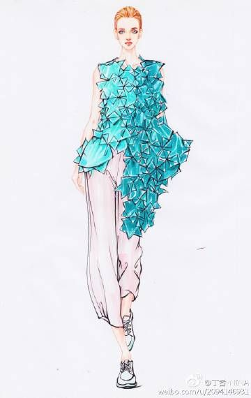 ❤Fashion illustration