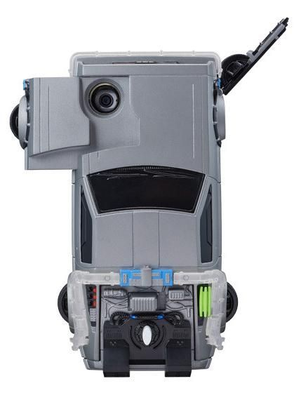 The Flying DeLorean iPhone case has a slot over the hood that pulls out to reveal the iPhone's rear facing camera.