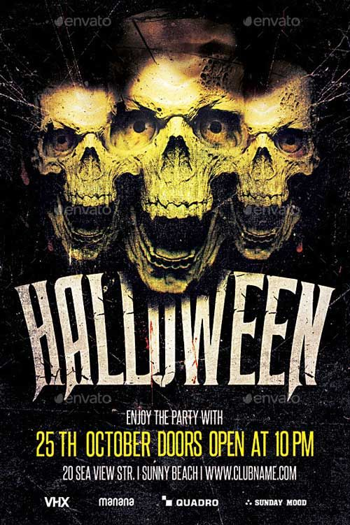 25 Best Ideas about Halloween Party Flyer – Halloween Party Flyer