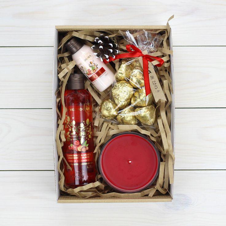 Gift box #ИдеиПодарков #Подарки #НовыйГод