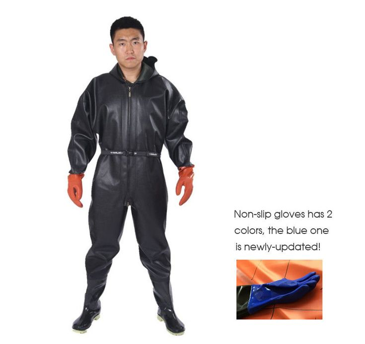 Breathable Chest Waders 1mm Waterproof Overalls Respirant Boots Gloves Rainwear #BreathableChest #ChestWaders