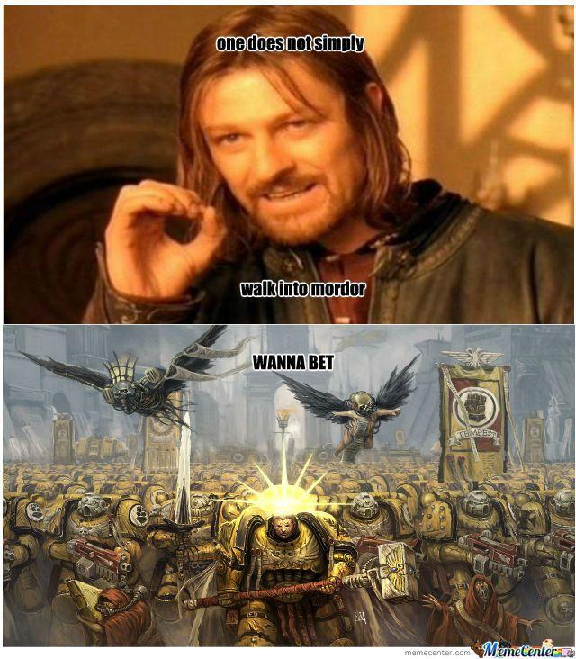 40k Chaos Meme Google Search Warhammer 40k Funny