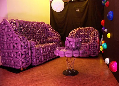 Good Balloon Furniture Why Not And It Is Purple