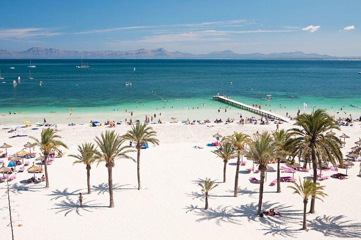 Sunwing Alcudia Beach - keskellä Alcudian upeaa rantaa.  Alducia, Espanja  #dreamhotel #spain