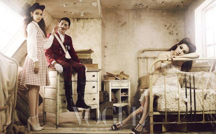 Kpop Fashion   SNSD Sooyoung & Tiffany for Vogue Korea