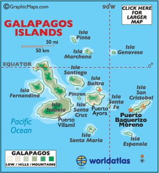 Galapagos Islands, Map    http://www.worldatlas.com/webimage/countrys/samerica/galpnewzzz.gif