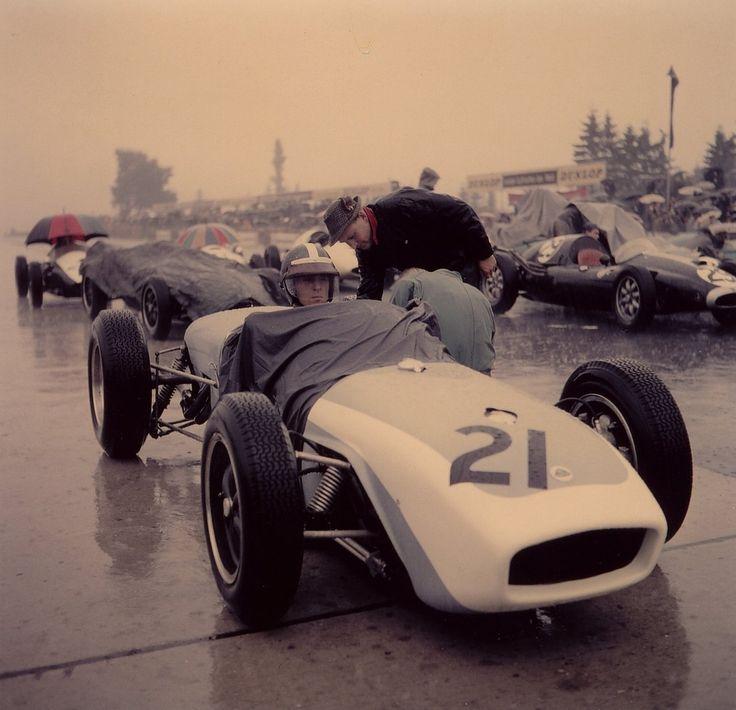 1960 Jim Clark at the Nurburgring