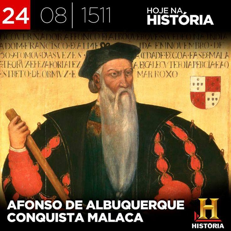 Neste mesmo dia, em 1511, Afonso de Albuquerque conquista Malaca (na Malásia), a primeira cidade do sudeste asiático a ser conquistada por europeus.