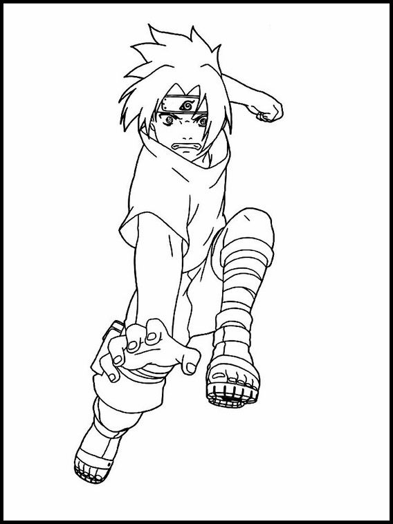 Printable Coloring Pages For Kids Sasuke Uchiha 10 Coloring Pages Coloring Pages For Kids Coloring Books