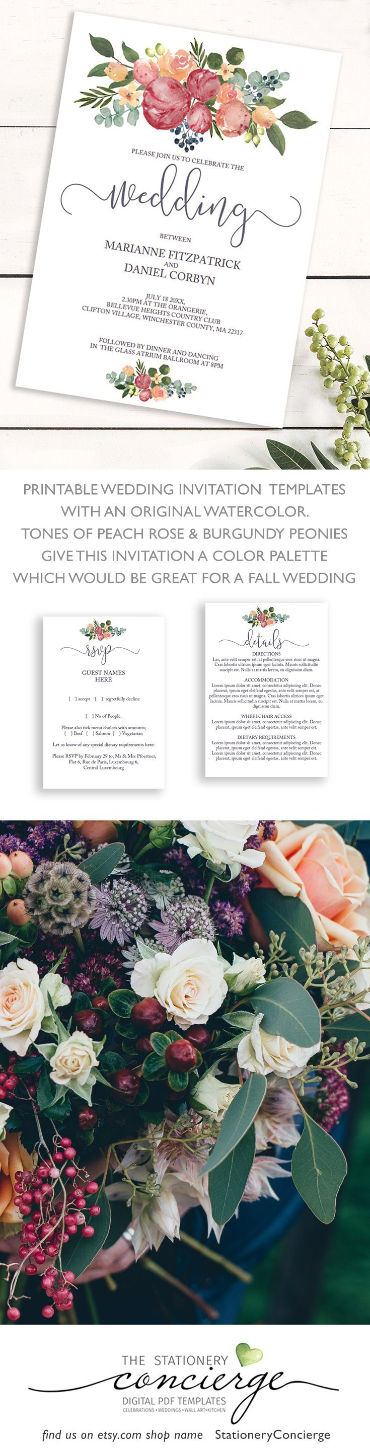 Best Wedding Templates Ideas Only On Pinterest Weddings