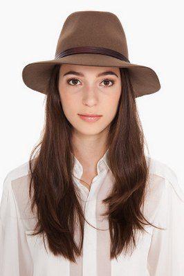 Fedora Fashion Women | Womens Fashion Fedora Hats Brown Felt Wide Brimmed Trends | Fedora ...