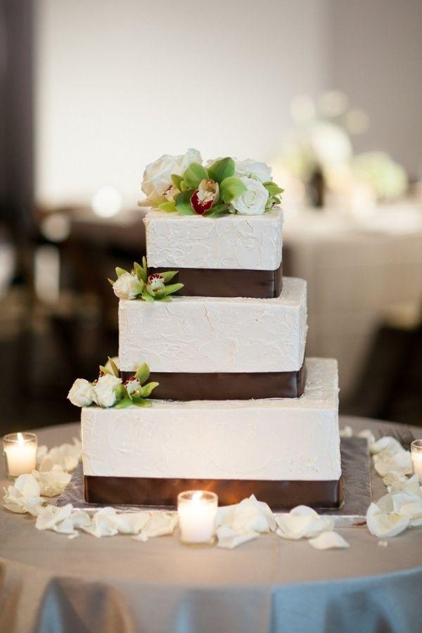 Blank Square Cake
