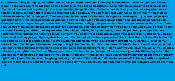 """Luke Hemmings Imagine!! Just noticed I was typing 3 of these in the dark. Is that weird? XD.. So I have a new song to get you guys to listen to... You may know it but I have it on repeat, """"Because Of You"""" by Kelly Clarkson. If you listen to it, it's about a guy she loved committing suicide... Just imagine if that happened to you. I'd def write a song if that happened. Enjoy, my lovelies!!!"""