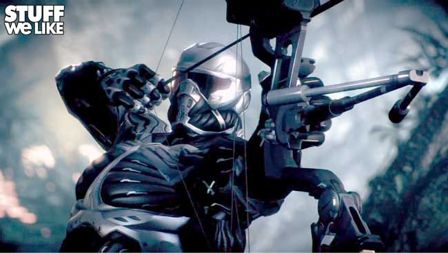 Teaser trailer for Crysis 3 http://www.stuffwelike.com/2012/04/20/crysis-3-teaser/Teasers Trailers