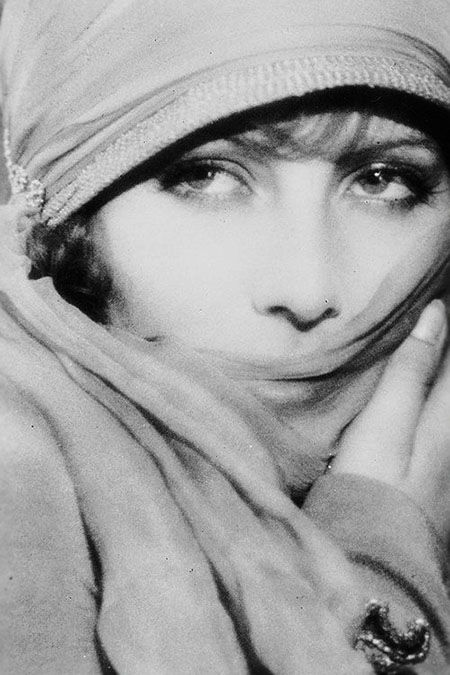 Traveling through history of Photography...Greta Garbo by Ruth Harriet Louise, 1926.