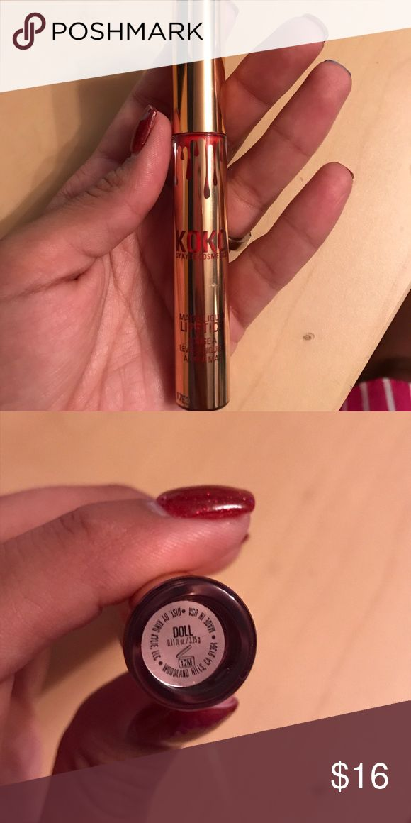 "In Love With KoKo ""Doll"" lipstick Brand new never used ""Doll"" lipstick by Kylie Jenner from the In Love With KoKo Kollection Kylie Cosmetics Makeup Lipstick"