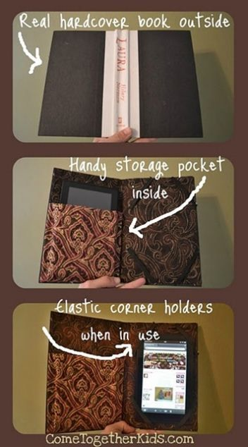 Kindle cover DIY