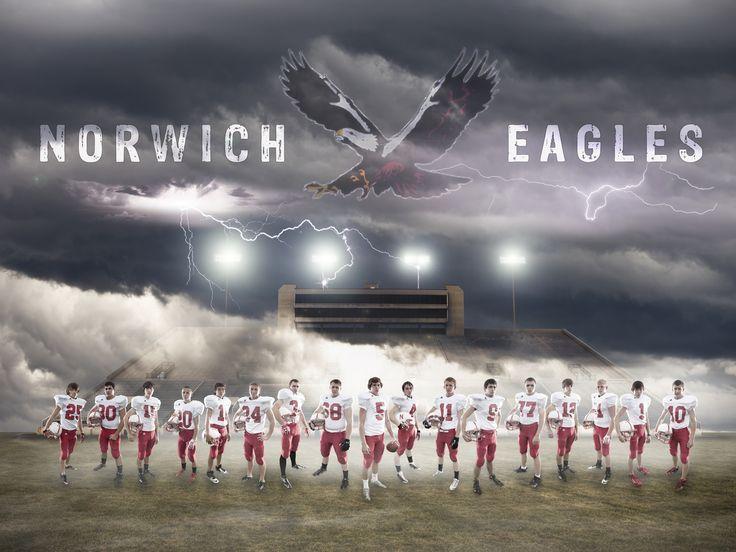 Norwich KS football sports team composite (2013/14) - www.jamessanny.com