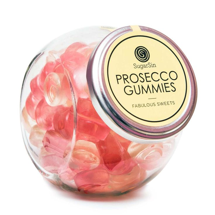 Sweet Prosecco Gummies