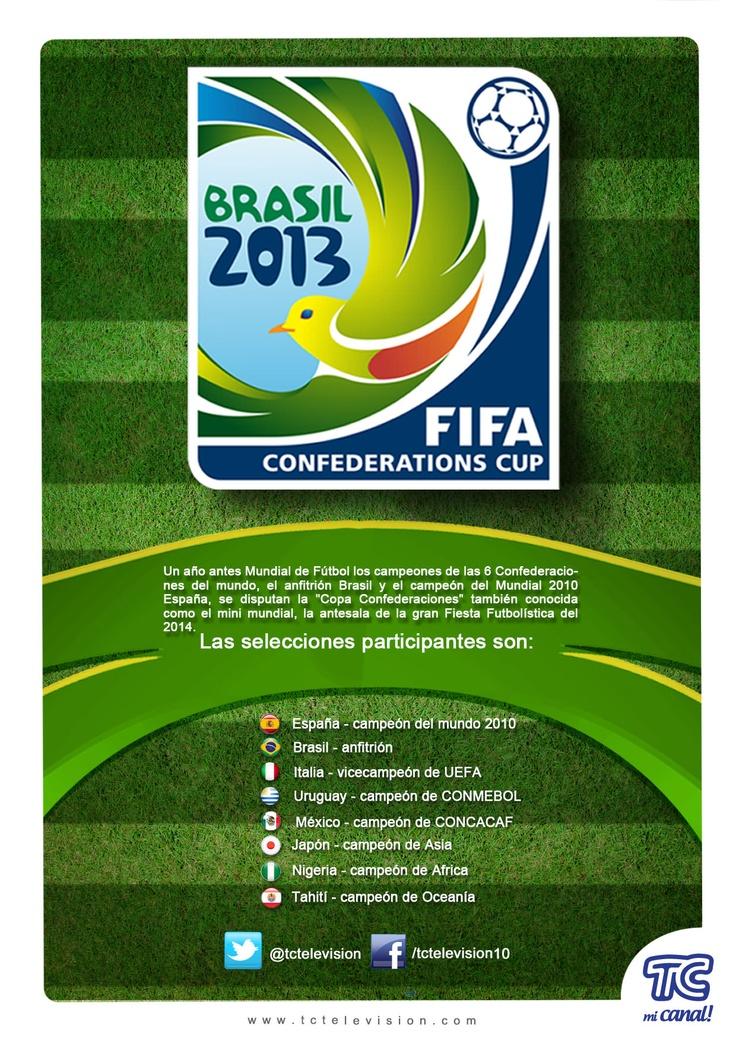 Se viene la Copa Confederaciones por TC Mi Canal.