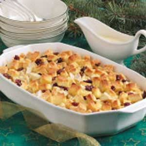 Christmas Bread Pudding Recipe | Taste of Home Recipes