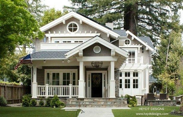 Heydt Designs Craftsman Cottage style house. My dream house