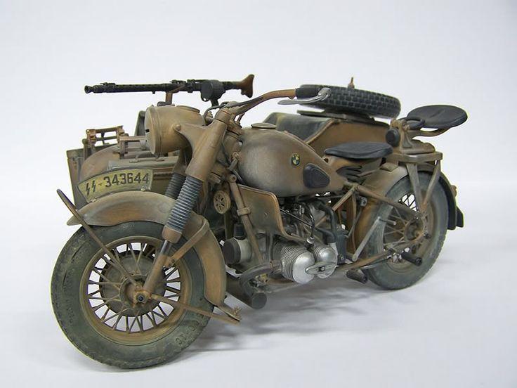 Sweet Ww2 German Bmw Motorcycle Motorcycleinsurance