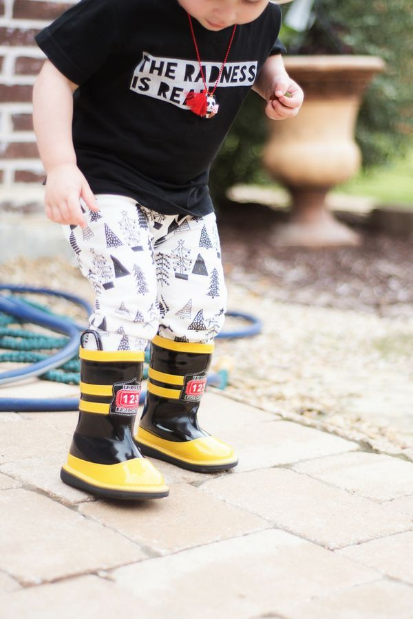 Fun Shoes for Kids from Wee Squeak: Firefighter Boots | Do you have a little Firefighter that needs boots? Watch your tots eyes light up when these arrive. Back zipper for easy on off. These boots are not waterproof. Because of their height, they are pack