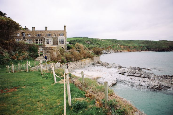 Prussia Cove, Cornwall Wedding venue by Love Oh Love Photography
