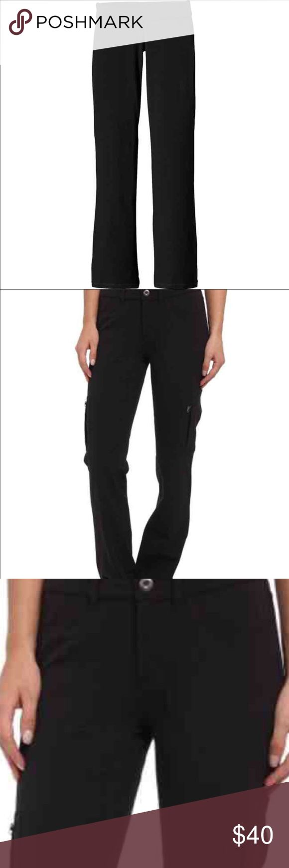 SALE!!! Black Patagonia pants In perfect condition! Women's black Patagonia pants. Perfect for every day use or for spring/summer camping/hiking/climbing. Fabric drys  quickly & Patagonia is an amazing brand. Bought from REi for $86. I need a smaller size now. Inseam is 28 inches 💗 Patagonia Pants
