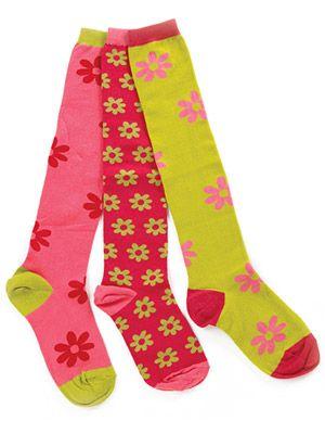 My Girls' Favorites - mismatched socks.