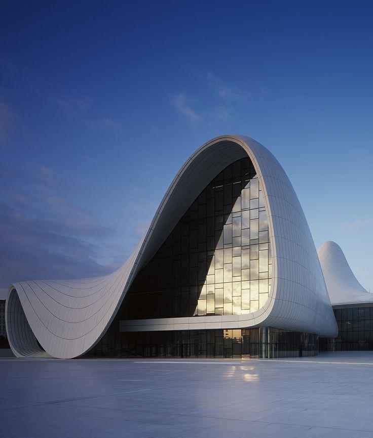 The Heydar Aliyev Cultural Center By Zaha Hadid Architects, In Baku,  Azerbaijan. #MostBeautifulArchitecture #Azerbaijan | Pinterest | Baku  Azerbaijan, Zaha ... Photo Gallery