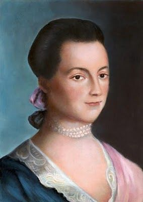 Abigail Adams (1744 – 1818) wife of President John Adams and mother of President John Quincy Adams. Abigail was not merely a great woman behind the great men; she actively brought attention to women's issues throughout her husbands political career, was an adviser to her husband, and a diarist who kept invaluable records during the beginning of the US as a nation.