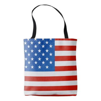 United states national flag tote bag  $19.95  by Flags_Store  - cyo customize personalize diy idea