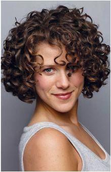 Image result for short curly haircuts…