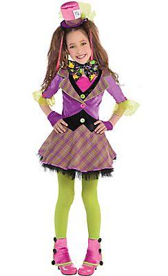Girls Mad Hatter Costume for Valeria