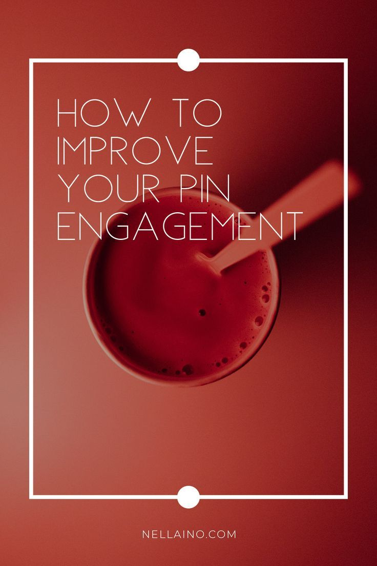 Pinterest and pin engagement tips. How to use your Pinterest statistics to improve your Pinterest marketing efforts. Visit the blog to read the full story: www.nellaino.com/blog #pinterestengagement #pinteresttips #pinterestmarketing #pinengagement #socialmediastrategy #socialmediamanagement #pintereststrategy