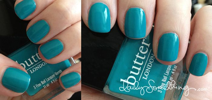 Butter London Slapper + Butter London Basecoat and Topcoat (Daily Something)