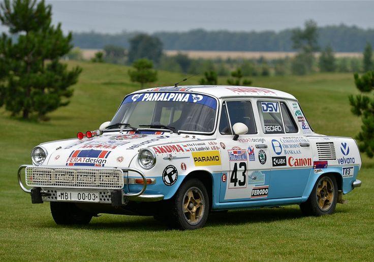 Škoda 1000 MB Rallye, Československo 1968