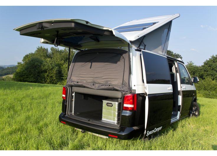 spacecamper moskitonetz f r vw t5 und t6 3 roger 39 s. Black Bedroom Furniture Sets. Home Design Ideas