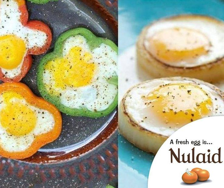 #Lifehack: Cook your eggs in bell peppers & onion rings. Bell peppers and onion rings make ingenious ring moulds for eggs. They also impart wonderful flavour to the egg. #Nulaid