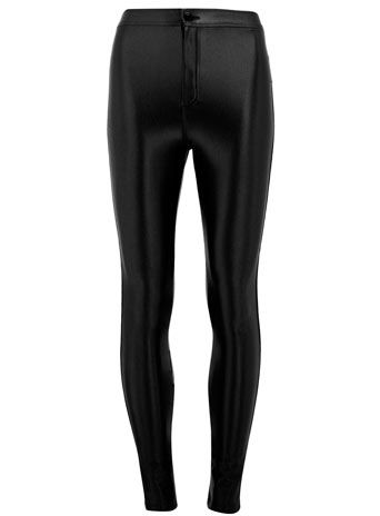 Noir disco pants