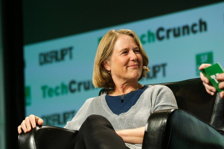Googles Diane Greene talks AWS and machine learning at TechCrunch Disrupt