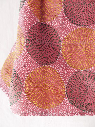 sashiko scarf