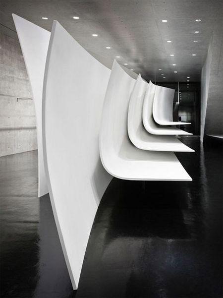 The Flagship Store Neil Barrett Corian Sculpture Interior Design