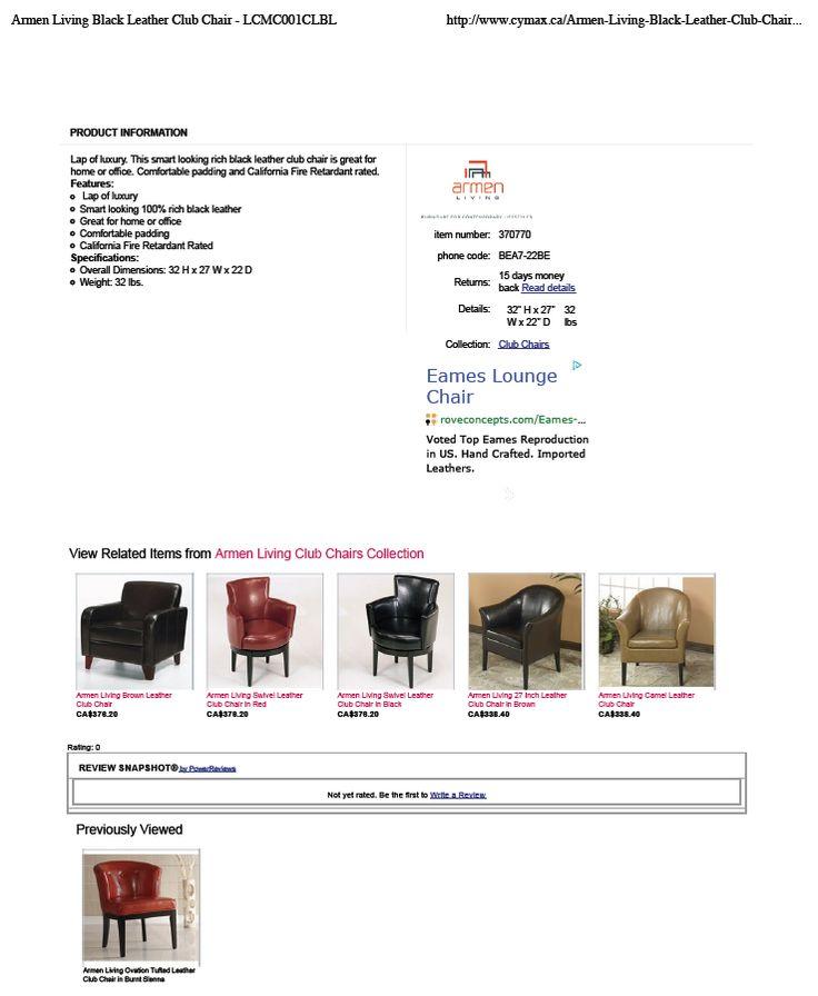 Chair #1 info